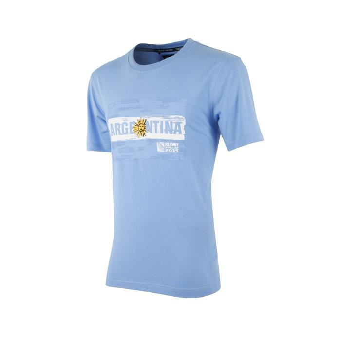 t shirt argentine coupe du monde 2015 bleu multicouleur achat vente t shirt cdiscount. Black Bedroom Furniture Sets. Home Design Ideas
