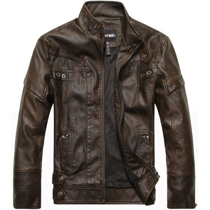 redskins blouson cuir homme achat vente redskins. Black Bedroom Furniture Sets. Home Design Ideas