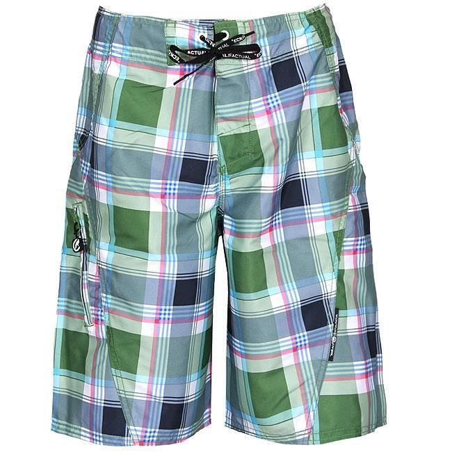 BOARDSHORT Boardshort ECKO UNLTD Plaid Poison Green