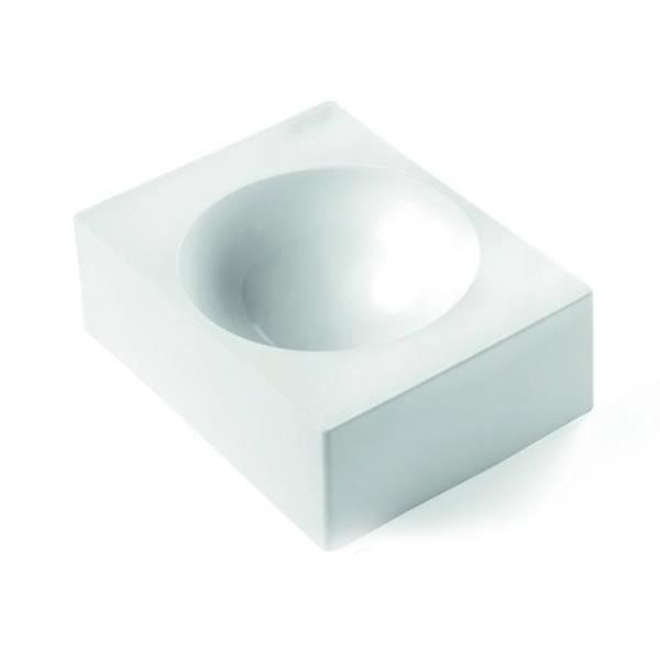 Blanc silikomart Moule /à G/âteau Demi Sph/ère
