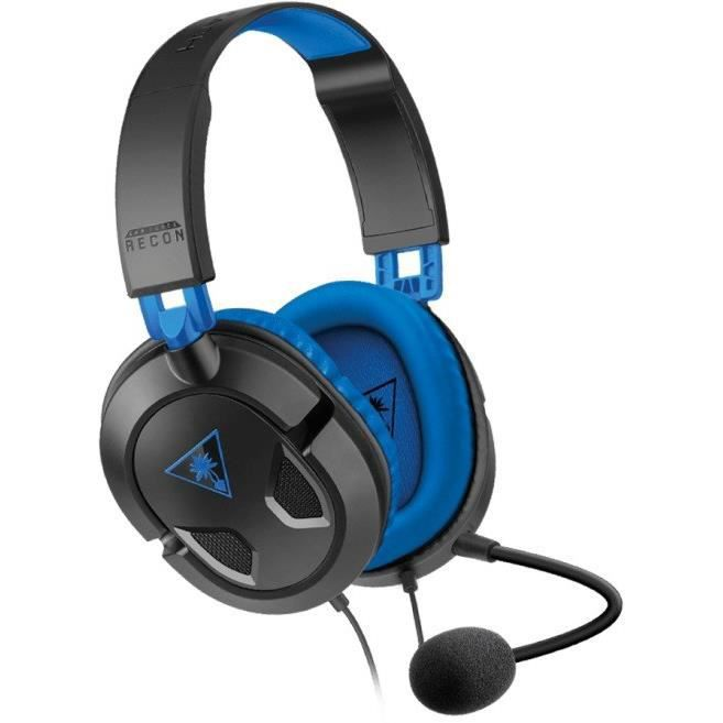 turtle beach micro casque gamer recon 60p filaire ps4 xbox one pc mobile prix pas cher. Black Bedroom Furniture Sets. Home Design Ideas