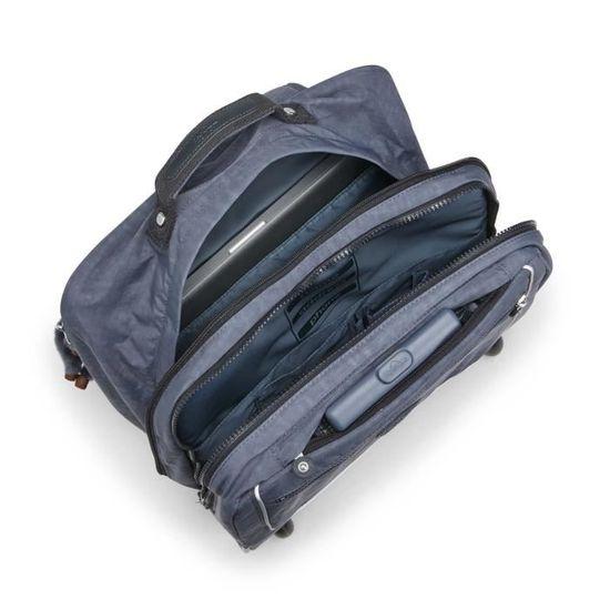 Sac /à Dos /à roulettes City Bag Bretelles rembourr/ées r/églables//poign/ée de Transport