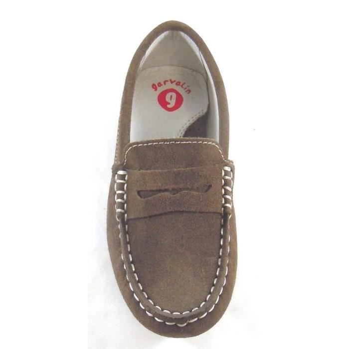 Garvalin Mocassins Marron Nubuck (27 - Médium - marron)