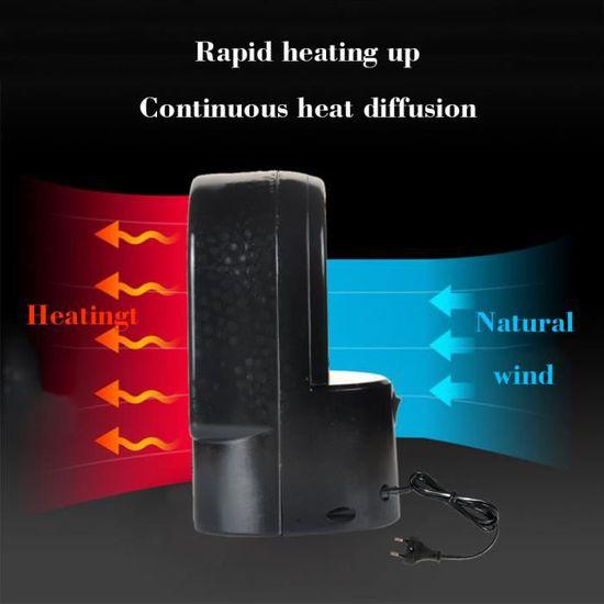 Seche Cheveux 500w Portable Radiateur Ceramique Oscillant