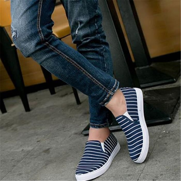 Moccasins homme Marque De Luxe Chaussures Chaussures hommes Nouvelle Mode 2017 ete Moccasin Grande Taille 44