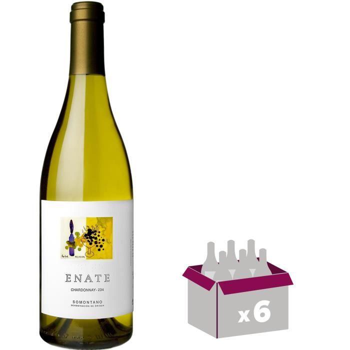 SOMOTAN ENATE 2016 Chardonnay Vin d'Espagne - Blanc - 75 cl - DO x 6