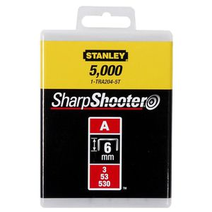 STANLEY 1000 agrafes plates 12mm-1/2\