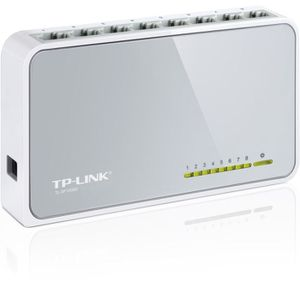SWITCH - HUB ETHERNET  TP-LINK Switch 8 PORTS 10/100 PLASTIQUE -SF1008D