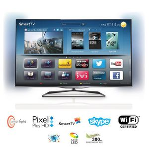 tv led lcd philips achat vente pas cher cdiscount. Black Bedroom Furniture Sets. Home Design Ideas
