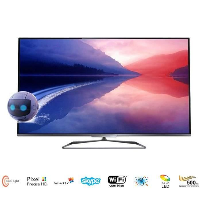 philips 42pfl6008h tv 3d ambilight 107 cm t l viseur led prix pas cher cdiscount. Black Bedroom Furniture Sets. Home Design Ideas