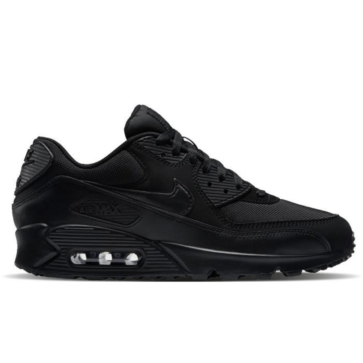 nike baskets air max 90 essential homme homme noir achat. Black Bedroom Furniture Sets. Home Design Ideas