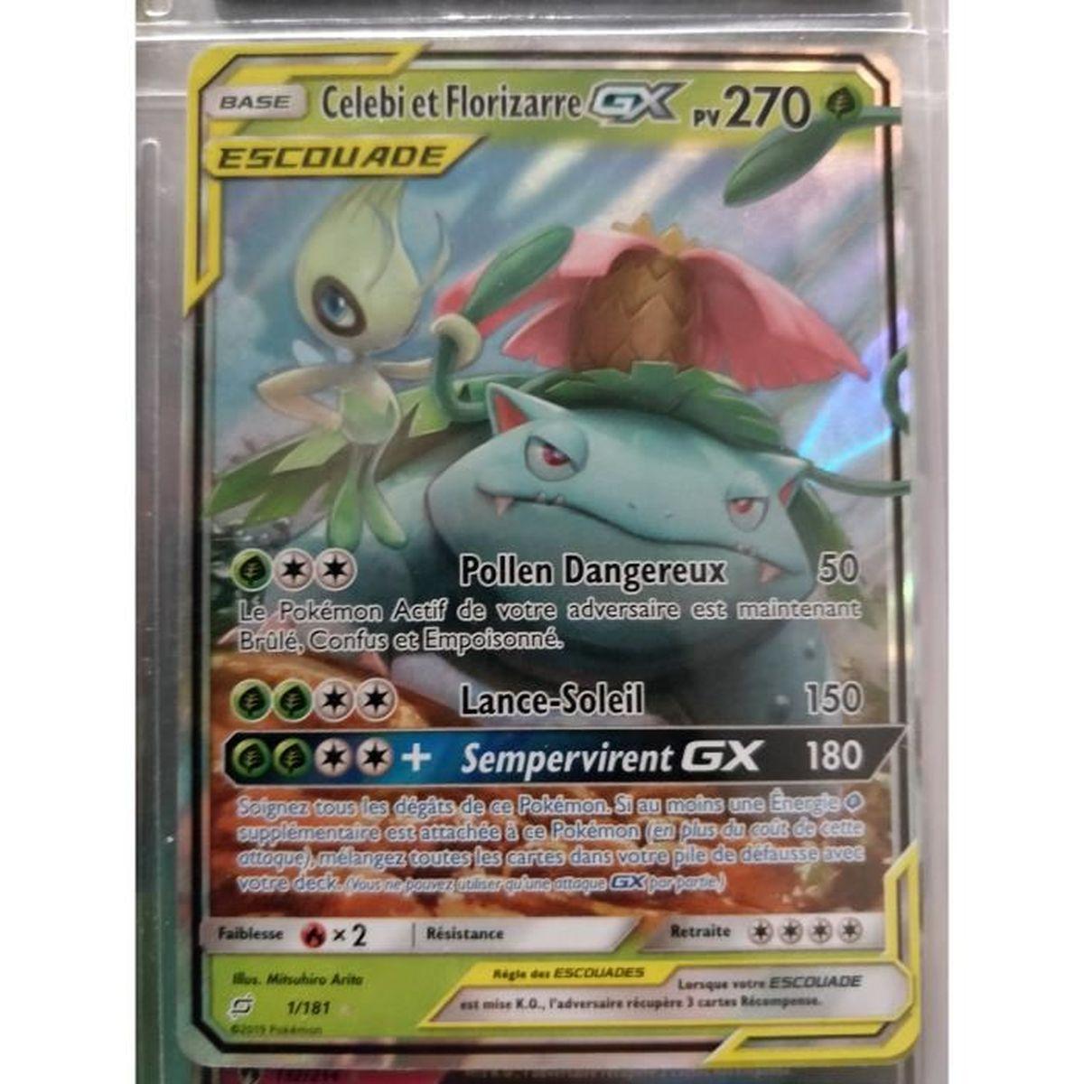 Pokemon Card Florizarre 1//83 Ultra Rare Ex XY Generations French New