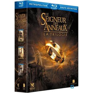 BLU-RAY FILM Blu-ray Coffret Le Seigneur des Anneaux - La trilo