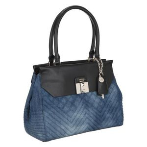 GUESS Sac ? Main REBEL ROMA Denim Femme