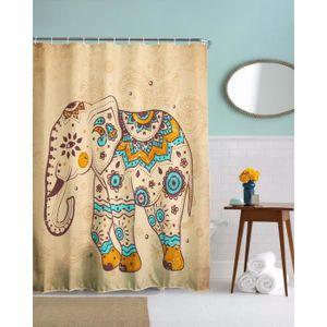 A.Monamour Mignon Indien Tribal Éléphant Tatouage Impression ...