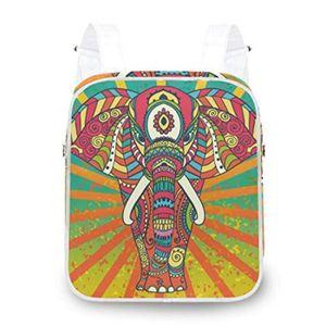 SAC À DOS Sac A Dos KH6VQ Sacs à dos d'éléphant tribal Bohêm