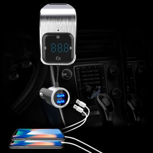 CHARGEUR CD VOITURE Chargeur voiture 5V - 3A Charge rapide double port