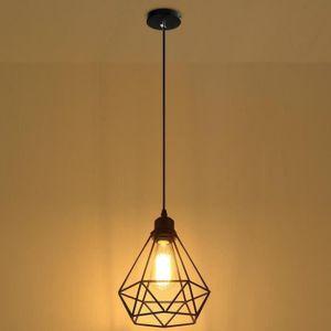 LUSTRE ET SUSPENSION MOGOD Suspension Luminaire Industrielle Fer Lustre