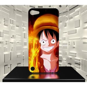 COQUE MP3-MP4 Coque Ipod Touch 5 ONE PIECE MONKEY D LUFFY 04