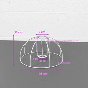 Feuille polyphane transparent pour abat-jours 35x25 cm