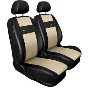 Housse de Volant de Voiture en Cuir Artificiel Noir Qwjdsb pour Volkswagen Caddy 2003-2006 Caravelle 2003-2009 Transporter T5 2006