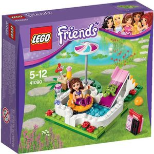 ASSEMBLAGE CONSTRUCTION LEGO Friends 41090 La piscine d'Olivia