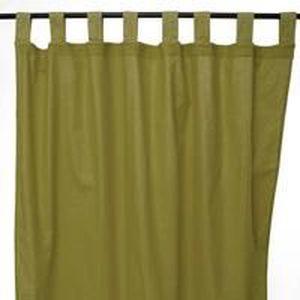 RIDEAU JAZZ rideau à pattes 150x250cm mousse 100% coton