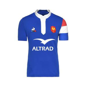 MAILLOT DE RUGBY Maillot Rugby France Domicile 2018-19 Junior