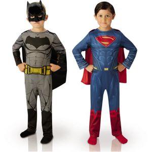DÉGUISEMENT - PANOPLIE Déguisement Bipack Batman et Superman : Dawn Of Ju