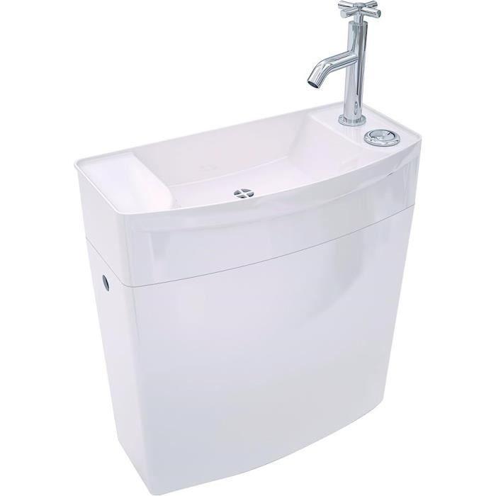 WIRQUIN Réservoir WC bas - lave-mains Iseo