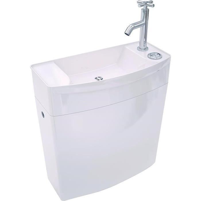 WIRQUIN Réservoir WC bas - lave-mains Iseo - Achat / Vente pièce sanitaire plomb. Res Iseo bas ...
