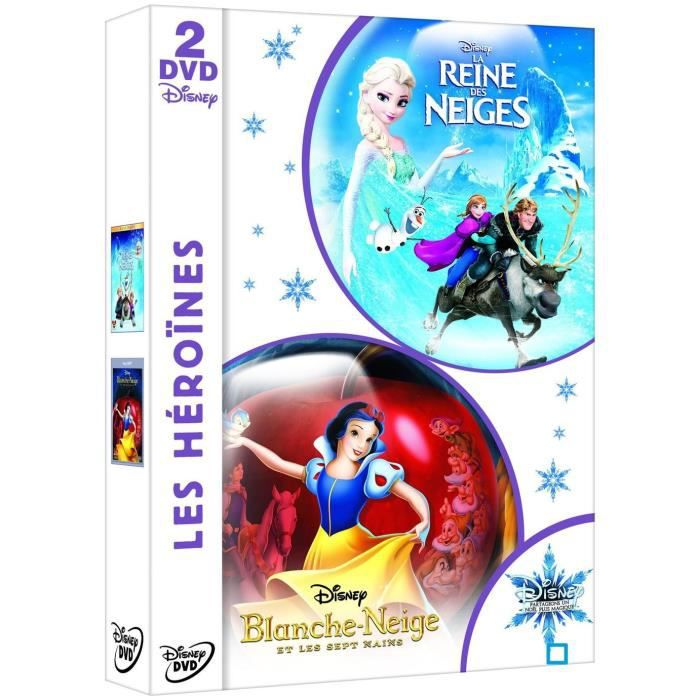 dvd blanche neige la reine des neiges en dvd film pas. Black Bedroom Furniture Sets. Home Design Ideas