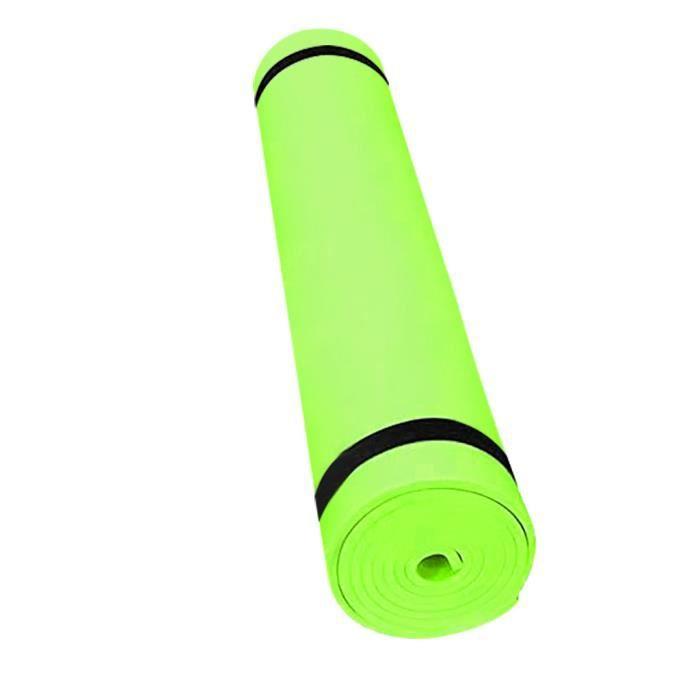 4MM EVA épais tapis de yoga durable tapis d'entraînement antidérapant tapis de fitness ML799