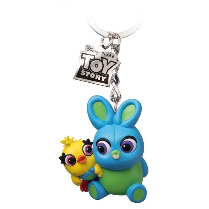 Porte-Cle Egg Attack Disney Toy Story 4 Ducky And Bunny