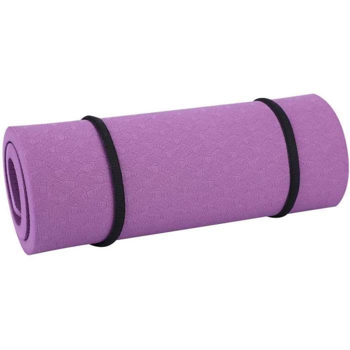 TAPIS DE YOGA VGEBY1 Tapis de Genou de Yoga, 8 mm de Fitness Tapis de Genou Protecteur de Coudes Yoga, Pilates, Stretching, Home382