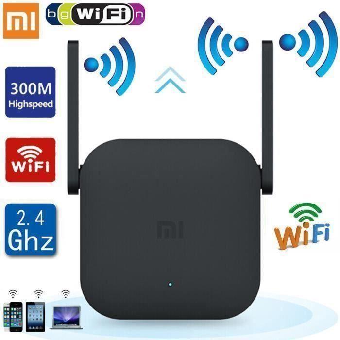 Xiaomi WiFi Pro 300MBPS WiFi répéteur Wifi signal sans fil 2.4G Extender Router_O4388 A26700