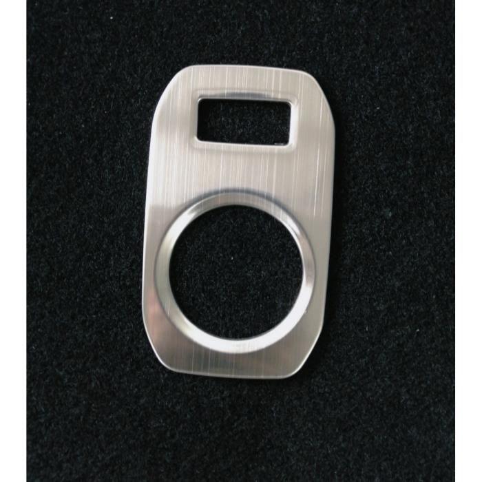 Décoration intérieure,Plaque d'accessoire de voiture en acier inoxydable,renault dacia duster II 2018 – 2021 - Type wiredrawing