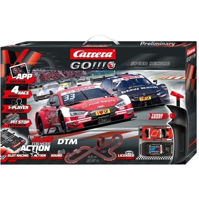 Carrera GO!!! PLUS 66009 Coffret DTM Speed Record