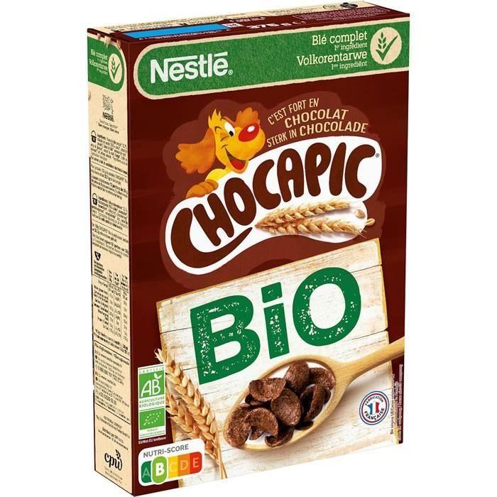CHOCAPIC : Céréales au chocolat bio 375 g