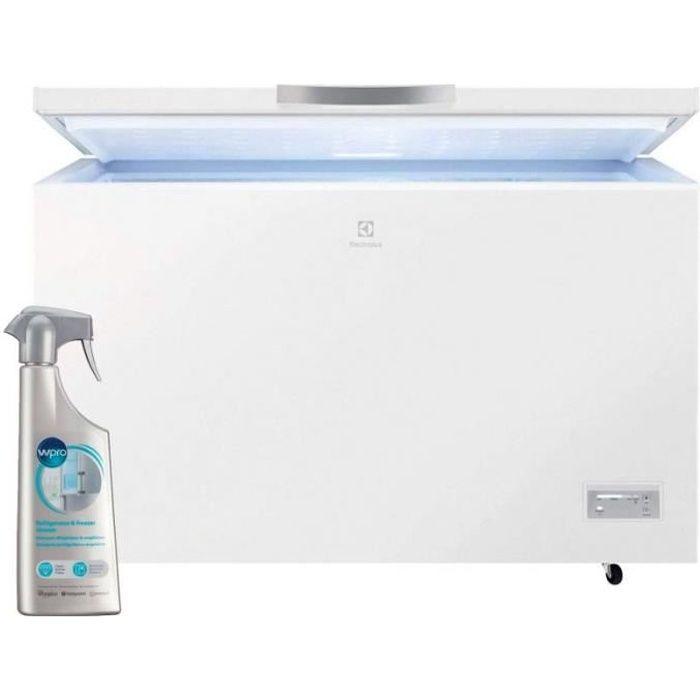 ELECTROLUX Congélateur coffre blanc 371L A+ Autonomie 40h Système Low Frost 70 Blanc
