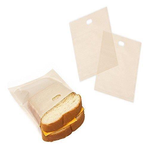 5PCS sacs à toasts anti-adhésifs et réutilisables 17 * 19cm
