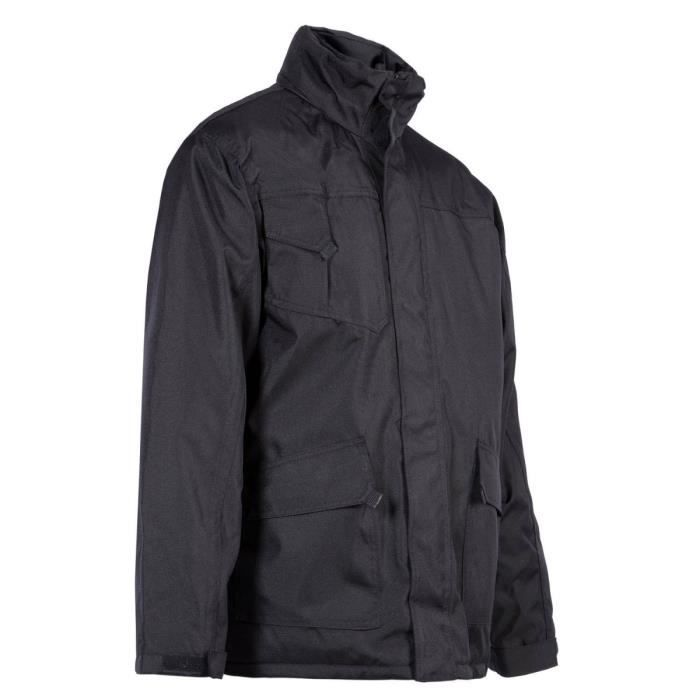 VESTE DE TRAVAIL IMPERMEABLE MERMOZ NOIR - North Ways