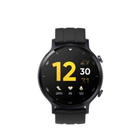 Realme watch S-Montre Connectée et intelligente -Batterie de 15 jours avec bracelet noir