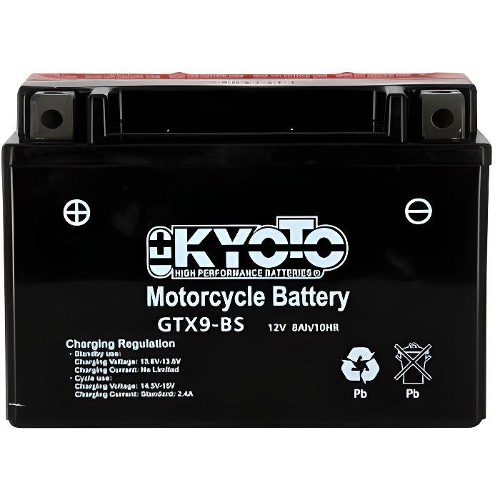 KYOTO - Batterie moto - Ytx9-bs - L150mm W 87mm H 105mm