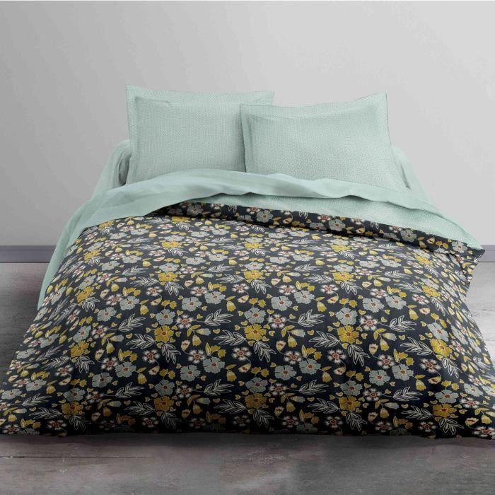 Parure de lit Today Sunshine Flowers 100% coton - taille:220 x 240 cm