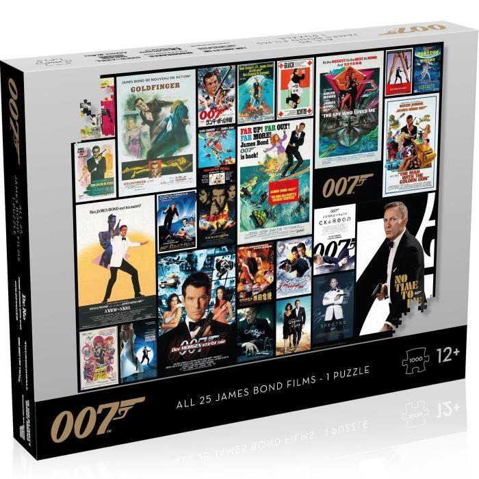 JAMES BOND Puzzle Affiches de Film 1000 pièces