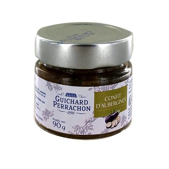 GUICHARD PERRACHON Confit d'Aubergines 90 g