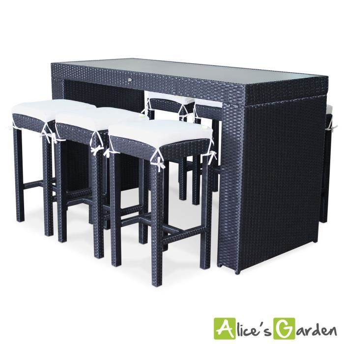 tabouret resine tressee maison design. Black Bedroom Furniture Sets. Home Design Ideas