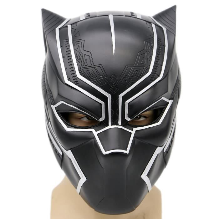 Support à décorer Black Mask Costume Deluxe Halloween Adults Soft Re