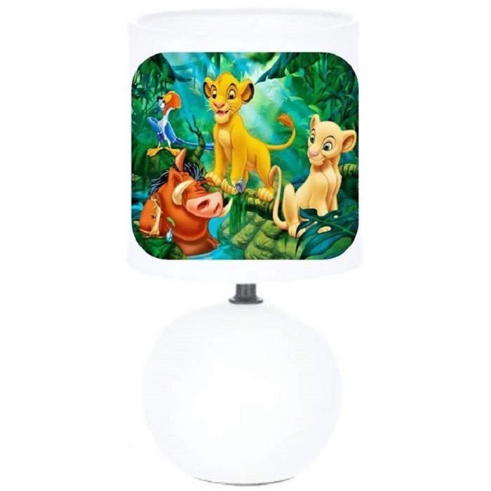Lampe Chevet Creacat Pied Boule Roi Lion Simba Nala Pumba Ect Achat Vente Lampe Chevet Creacat Enfant Prolongation Soldes Cdiscount